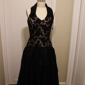 Dresses & Skirts - Custom Made | Halter Gown w/ Lace Bodice